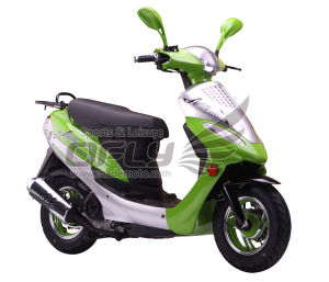 50CC Gas Motor Scooter Equipped with Cheap Prices (YY50QT-6D(2T)) pictures & photos