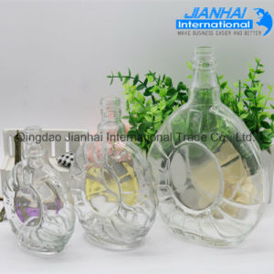 Clear Designs Drinking Xo Glass Wine Bottle pictures & photos