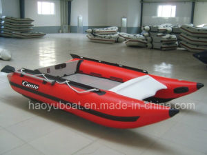 12.5feet High Speed Boat Cat Boat 3.8m with PVC Tube and Aluminum Floor pictures & photos