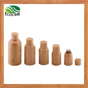 30 Ml / 50 Ml Bamboo Shell Glass Essential Oil Bottle pictures & photos