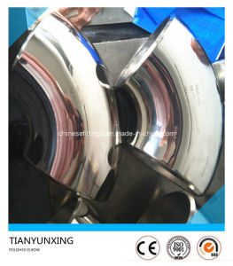 Polished Seamless Stainless Steel Sanitary Pipe Elbow pictures & photos