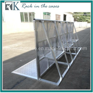 Rk Perfect Aluminum Straight Crowd Barrier with Security Platform pictures & photos