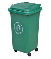 50L Outdoor Plastic Dustbin with Wheels (FS-80050A) pictures & photos