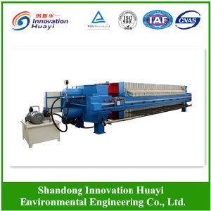 Filter Press for Wastewater Sludge Dewatering pictures & photos
