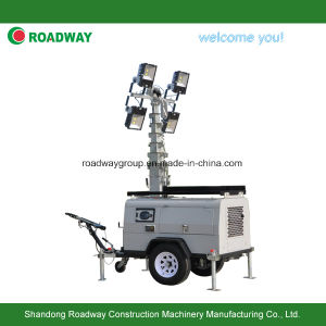 Outdoor Light Tower with Hydraulic Mast pictures & photos