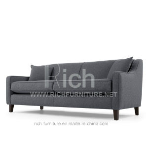 New Design Hotel Sofa Modern Fabric Sofa (3 Seater) pictures & photos