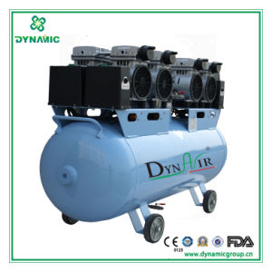 Silent Air Compressor with 4PCS 550W Motor (DA5004)
