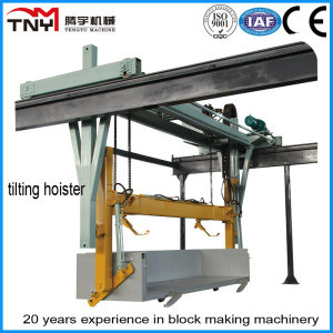 Hydraulic Convertible Frequency Tilting Hoister for AAC Block Manufacturing Line pictures & photos