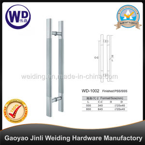 Stainlesss Steel Glass Door Shower Handle Wd-1002 pictures & photos
