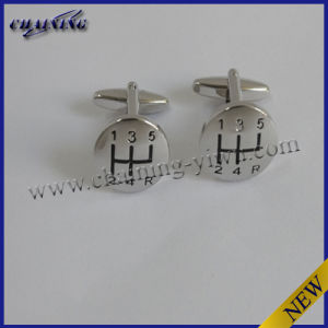 3D 6 Speed Gear Shifter Cufflinks