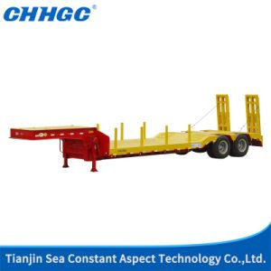 China Factory Tri-Axle 40FT Utility Low Bed Trailer pictures & photos