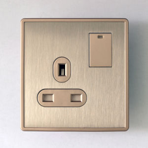 B2 Series One Gang 13A Wall Switch British Style
