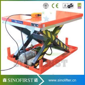 Simple Structure Low Failure Rate Single Scissor Lift Table pictures & photos