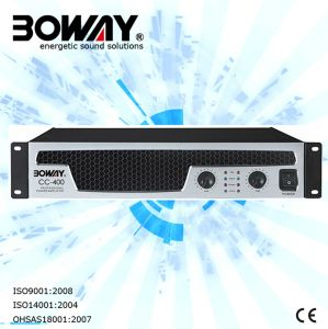 Cc-400 Professional Power PA System Amplifier pictures & photos