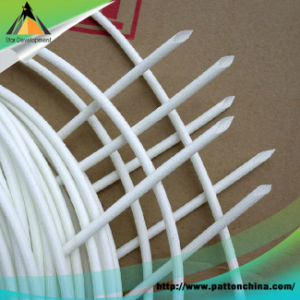 RoHS Soft Silicone Rubber Fiberglass Sleeving