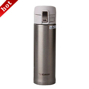 Silver Stainless Steel Vacuum Insulated Double Wall Bottle
