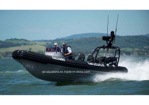 Aqualand 29feet 9m Rib Patrol Boat/Rigid Inflatable Military Boat (RIB900) pictures & photos