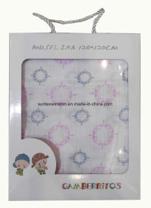 100% Cotton Printed Baby Blankets pictures & photos