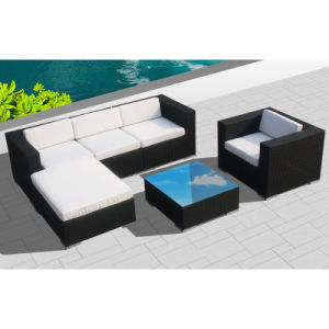 Outdoor Rattan Furniture for Garden with Sofa Set / SGS (8201-1) pictures & photos