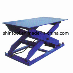 1500kg Stationary Lift Table with Max. Height 1430mm (Customizable) pictures & photos