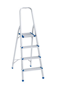 CE En131 Approved Aluminum Folding Household 3 Steps Ladder pictures & photos