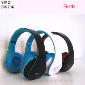 High Quality Wireless Stereo Bluetooth 3.0 Headphone (BH-16) pictures & photos