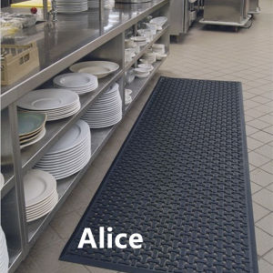 Anti-Slip Hotel Rubber Mats/Rubber Mats for Hotel/Drainage Rubber Mat pictures & photos