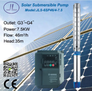 6SP46 Stainless Steel Submersible Centrifugal Solar Pump pictures & photos