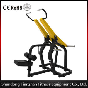 Gym Strength Plate Loaded Equipment Pull Down Tz-6063 pictures & photos