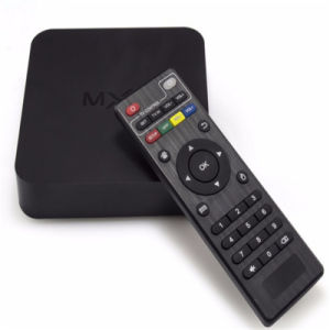 Android TV Box with Quad-Core Preinstalled Kodi Mxq S805 TV Box 1GB/8GB 4k Full HD 1080P Factory Price Amlogic S805 Em6q Mxq Kodi + H. 265 + Quad Core + Cec pictures & photos