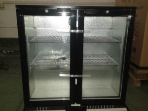 Double Door Stand Free Back Bar Cooler Under Bar Cooler pictures & photos