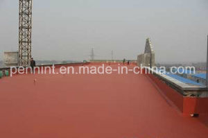 Single/Double-Component Red PU Waterproof Coating pictures & photos