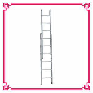 Double Extension Ladder /Folding Aluminum Ladder pictures & photos