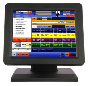 Touch POS System All in One Computer with Customer Display pictures & photos