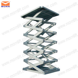 6.5m Height Aerial Scissor Lifting Platform pictures & photos