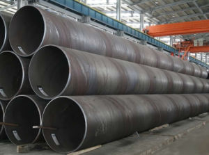 SSAW Welded Steel Pipe pictures & photos