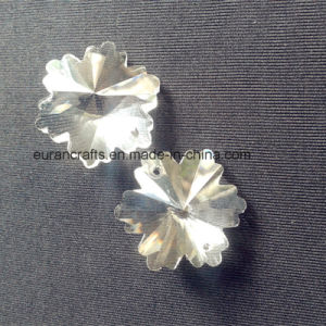 Chandelier Octagons Snow Flower Crystal Beads