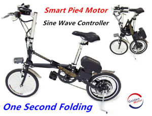 36V 500W 16′′one Second Folding Electric Bicycle for Kids pictures & photos