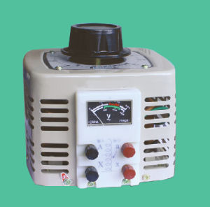 Digital LCD Tdgc2 Series Contact Voltage Stabilizer/Variable Transformer 1phase, Tdgc2-0.5/1/2/3/5/7/10/15/20/30/40kVA
