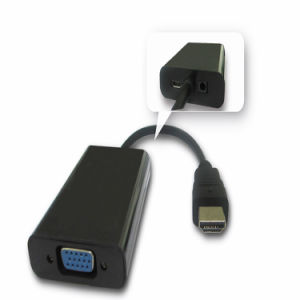 HDMI to VGA Converter with Micro USB pictures & photos