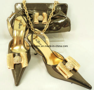 Italian Wedding Shoes And Bag Set