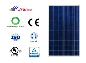 Better Capture Direct Light of Leading-Edge Surface Texturing 270W Poly Solar Panel pictures & photos