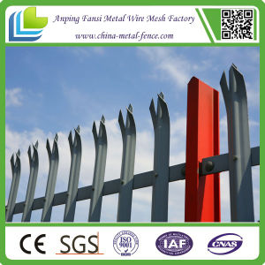 2015 New Arrival Hot Dipped Galvanized Palisade Fence with High Quality pictures & photos