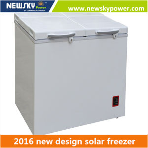 170L Solar Fridge Freezer DC Solar Freezer pictures & photos
