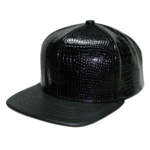 Snake Skin Crown & PU Visor pictures & photos