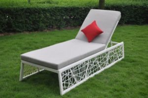PE Rattan & Aluminum Tube, Outdoor Use Rattan Chair (L0075)
