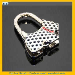 Dalmatian Shape Alloy Hook Holder Hanger for Purse Handbag Bag Hot Selling Spotty Dog Shaped Metal Portable Handbag Bag Holder