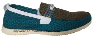 Leisure and Comfort Shoes for Men Leather Casual Footwear (815-7910) pictures & photos