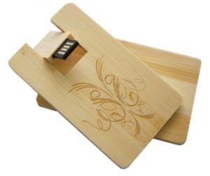 Wooden Credit Card USB Disk Memory Card USB Pen Drive