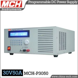 1500W 30V 50A Variable Programmable Digital DC Power Supply with CE & RoHS (MCH-P3050)